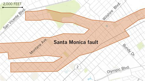 Earthquake fault maps for Beverly Hills, Santa Monica and ...
