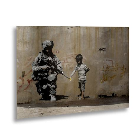 banksy for sale canada peace banksy touch of modern