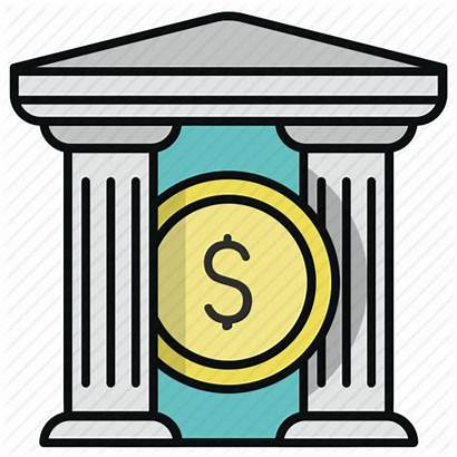 Icon Clipart Financial Institution Finance Bank Transparent