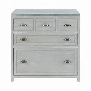 meuble bas sellingstgcom With meuble bas maison du monde 3 meuble de bar en bois gris l 120 cm newport maisons du monde