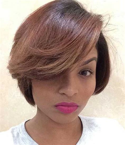 cute bob hairstyles  black women short hairstyles