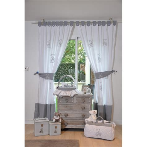 rideaux chambre bebe davaus rideaux gris chambre bebe avec des idées
