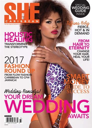 she magazine subscription she caribbean magazine she vol 73 subscriptions pocketmags