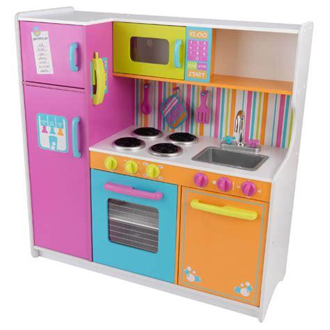 grande cuisine kidkraft grande cuisine de luxe aux couleurs vives kidkraft king