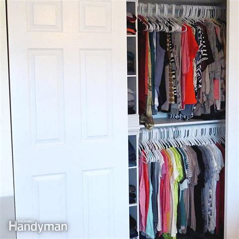 how to declutter your closet the family handyman