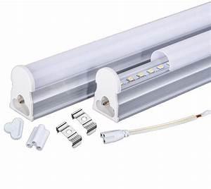 Pvc Plastic 9w Led Tube T5 Light 110v 220v 240v 60cm Led