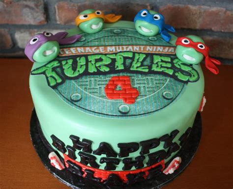 turtle decorations for cakes mutant turtles cake decorations