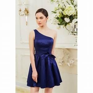 Robe Demoiselle D Honneur Bleu : robe demoiselle d 39 honneur courte bleu ~ Melissatoandfro.com Idées de Décoration