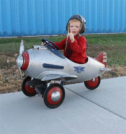 Pedal Airplane Toy Murray Fighter Wwii 1940