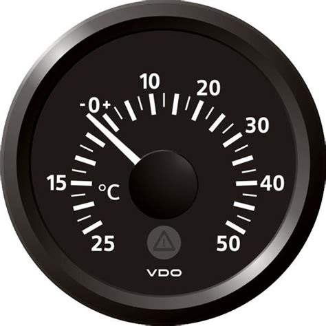 protection siege auto bébé manomètre vdo température extérieur 25 50 c diamètre 52