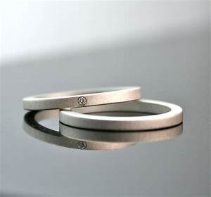 One tiny diamond ring set simple wedding rings sterling for Tiny wedding ring