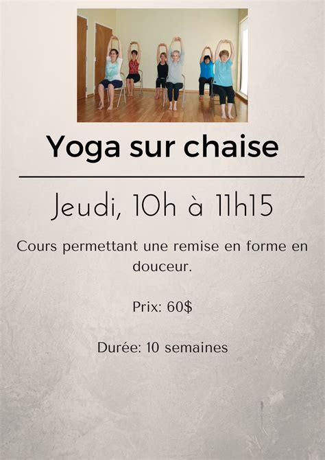 Yoga Sur Chaise  Club Social Henrijulien