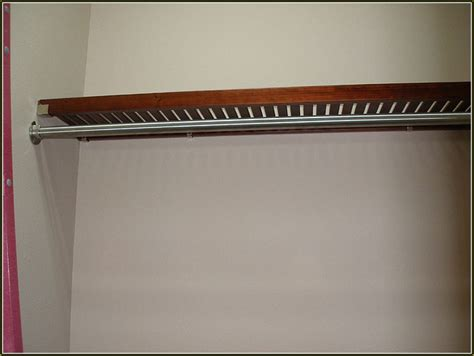 curtain rods corner wood closet rod and shelf roselawnlutheran