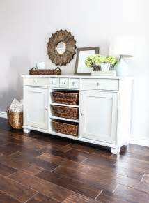 Check around once your table is built and you've set it in place, be sure to secure it to a wall with furniture safety straps! Ikea Buffet Makeover   Muebles de comedor, Muebles de entrada y Decoración hogar