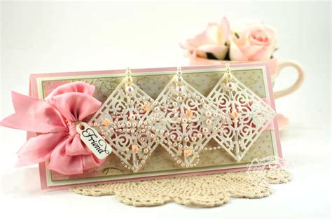 Crazy About Long Filigree Die Cut Cards » Amazing Paper Grace