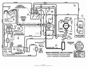 Murray 7800522  30 Hayter Ce Tractor  2009  Parts Diagram For Electrical System
