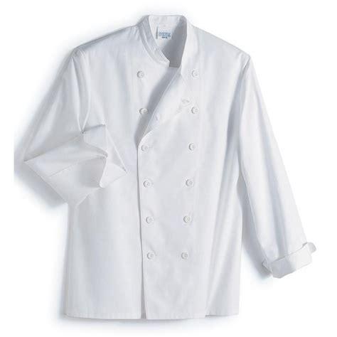 veste de cuisine veste cuisine col officier 100 coton