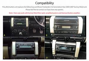 Car Dvd Player Land Rover Freelander 1 Stereo Usb Cd Radio