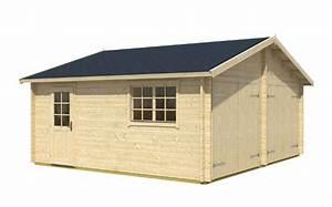 Doppelgarage Aus Holz : doppelgarage werkstatt garage ohne tor sams gartenhaus shop ~ Sanjose-hotels-ca.com Haus und Dekorationen