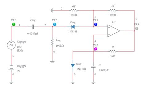Comparator Operational Amplifier Monostable