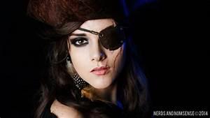 Battled-Beauty Pirate Halloween Makeup Tutorial | Nerds ...