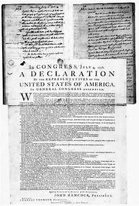 Summary of the declaration of independence independence for Founding documents in american history