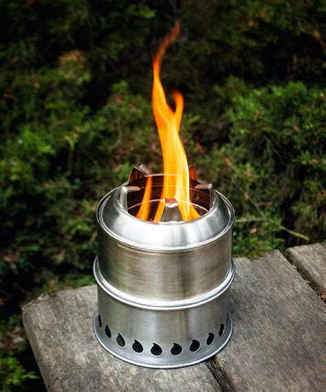 stainless steel scout stove stoves backpack stove