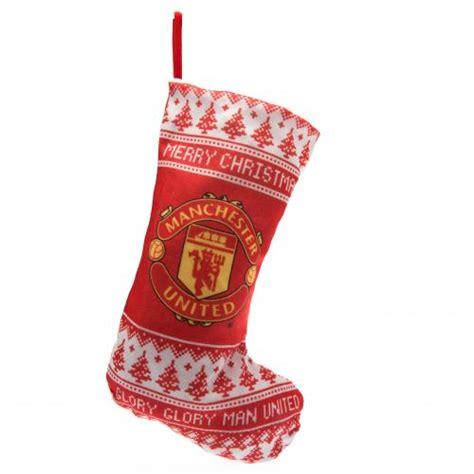 manchester united nordic christmas stocking