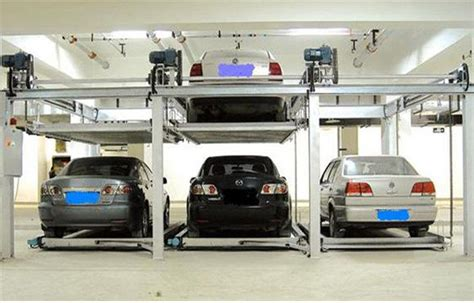 Multi-level Underground Car Parking System Fully Automated