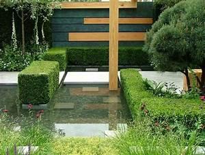 jardin contemporain et deco originale en 15 idees d With amenager un jardin paysager 15 creer un jardin de topiaires un jardin de buis