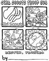 Scout Coloring Pages Law Junior Scouts Daisy Brownies Brownie Printable Sketch Custom Template Sketchite Popular Quantity Crafts sketch template