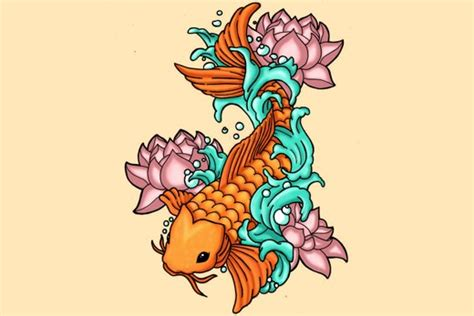 koi fish tattoo meaningcolor direction   tatring