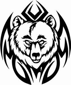 Tribal Bear Tattoo Designs | Tattoo ideas - Nathan ...