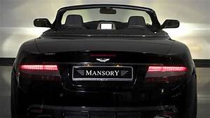 Full HD Wallpaper aston martin back view mansory tuning