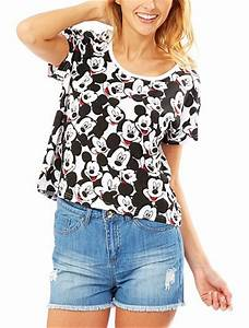 Kiabi T Shirt Homme : tee shirt 39 mickey 39 femme kiabi 9 99 ~ Nature-et-papiers.com Idées de Décoration