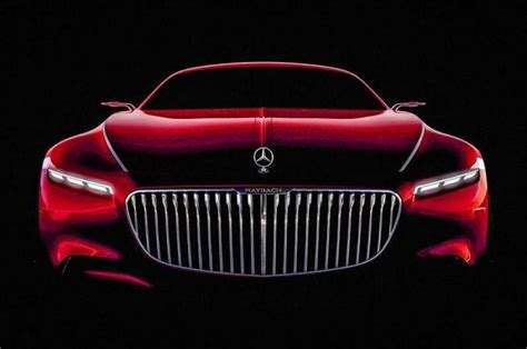 Mercedes Maybach Coupe New Image