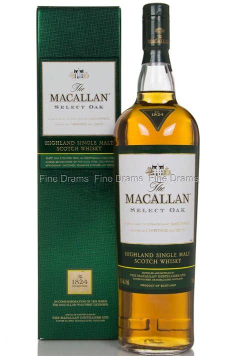 macallan select oak  liter scotch whisky