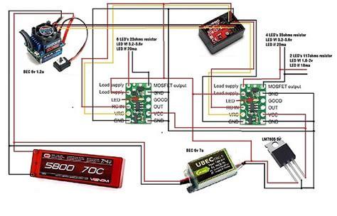 Nitro Servo Wiring by Need Help With Traxxas Slash Lighting Rcu Forums
