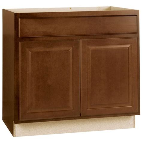 kitchen cabinets sink base hton bay hton assembled 36x34 5x24 in sink base 6384