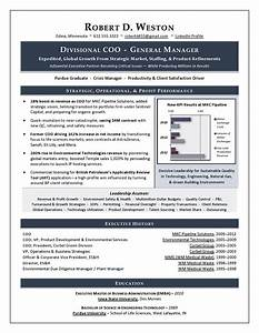 best executive resume writer sample resume coo gm With coo resume