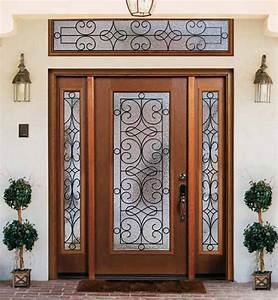 top 15 exterior door models and designs mostbeautifulthings With front door designs for homes