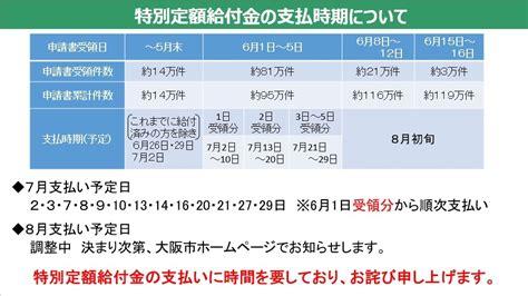 大阪 市 10 万 円 給付 金