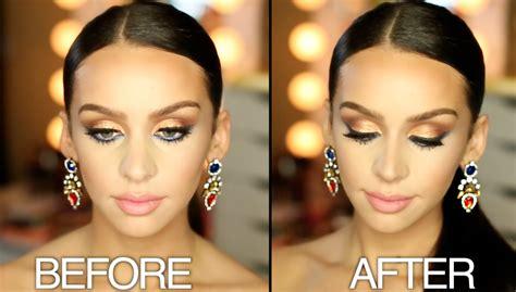 change  contour   nose  makeup