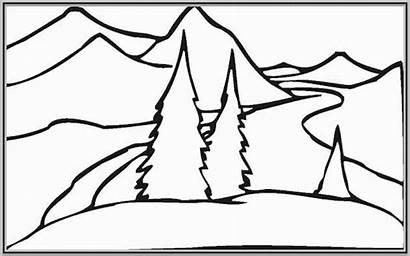 Coloring Landscape Pages Printable Sheets Prntr Worksheets