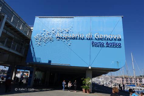 l aquarium de g 234 nes italie1