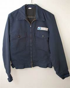 vintage us postal service lined jacket coat mens small made in With letter carrier jacket