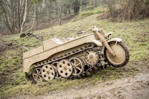 You Can Now Own This Ridiculous 1944 German Kettenkrad