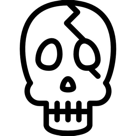Free Icon   Skull outline