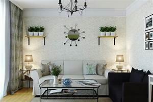 Tapeten Wohnzimmer Beispiele : tapeten f r wohnzimmer beispiele ~ Sanjose-hotels-ca.com Haus und Dekorationen