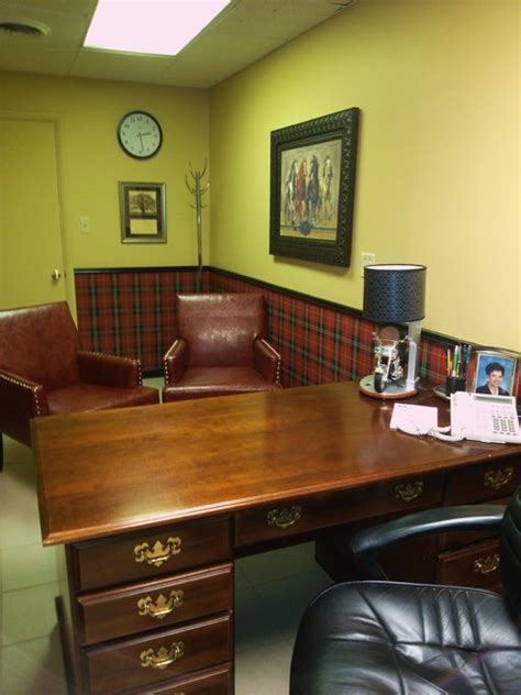 small pastors office traditional home office